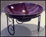decorative bowl stand